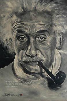 Albert Einstein by Eddie Lim