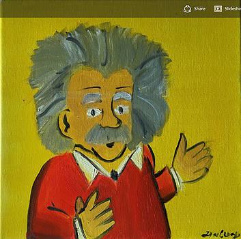Albert Einstein by Ramya Sundararajan