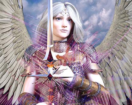 Albino Angel4 by Suzanne Silvir