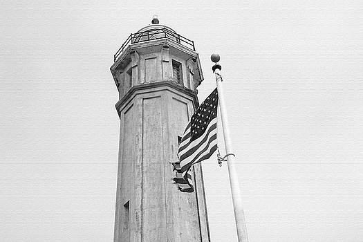 Art Block Collections - Alcatraz Light - San Francisco