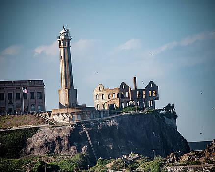 Alcatraz Lighthouse by Andrew Hollen