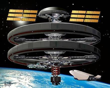 Aldrin Station by Bill Wright