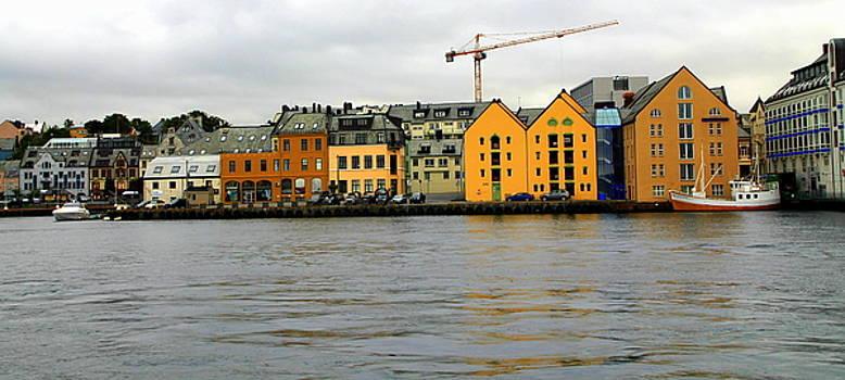 Alesund Waterfront by Laurel Talabere
