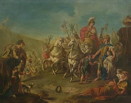 Alexander Triumphant In Babylon by MotionAge Designs