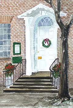 Alexandria Doorway by Ally Benbrook