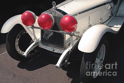 Alfa Romeo 6C 1750 Old Red Eyes by Curt Johnson