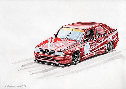 Alfa Romeo 75 by Rimzil Galimzyanov