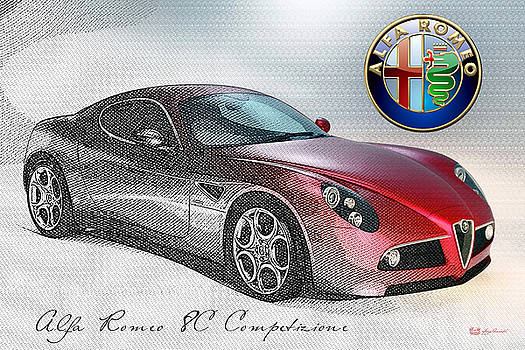 Serge Averbukh - Alfa Romeo 8C Competizione