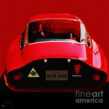 Alfa Romeo GTZ 1964 by Curt Johnson