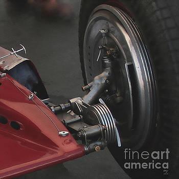 Alfa Romeo  Typo B P3 Brake by Curt Johnson