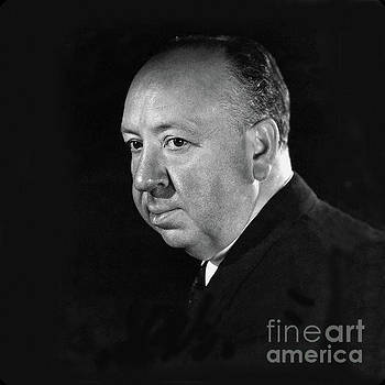 Alfred Hitchcock Art by Doc Braham