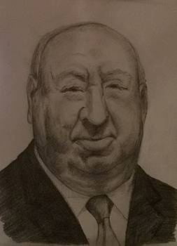 Alfred Hitchcock by Covaliov Victor