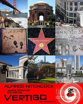 Wingsdomain Art and Photography - Alfred Hitchcock Jimmy Stewart Kim Novak Vertigo San Francisco 20150608 text red