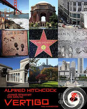 Alfred Hitchcock Jimmy Stewart Kim Novak Vertigo San Francisco 20150608 text black by San Francisco