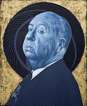 Alfred Hitchcock by Jovana Kolic