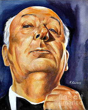 Alfred Hitchcock by Spiros Soutsos