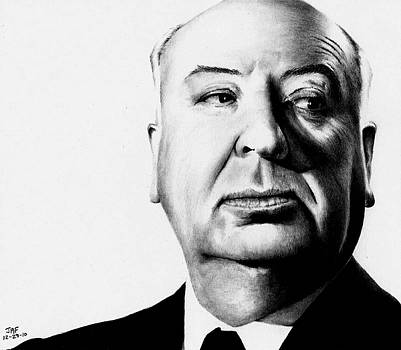 Alfred Hitchcock  by Rick Fortson
