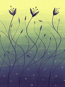 Algae Plants In Green Water by Boriana Giormova