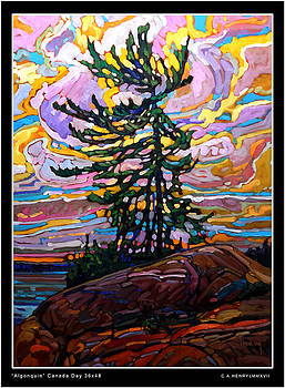 ALGONQUIN Canada Day by C A Henry