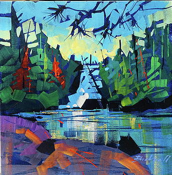 Algonquin Waters  by Brian Buckrell