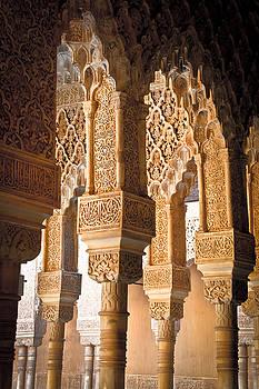 Jonathan Hansen - Alhambra Courtyard Columns