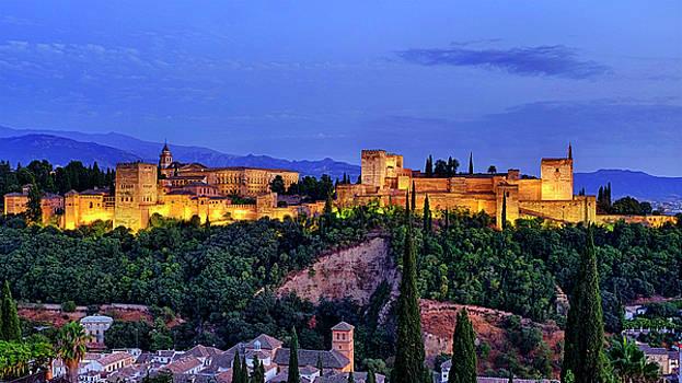 Alhambra by Fabrizio Troiani