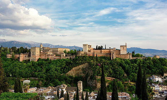 Alhambra in the Evening by Marion McCristall