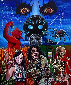 Alice Cooper Nightmare by Jose Mendez