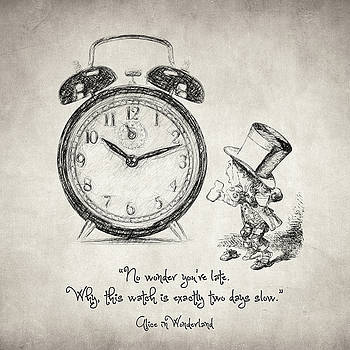 Zapista Zapista - Alice in Wonderland Quote