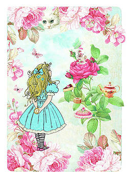 Alice in Wonderland tea party by Wendy Paula Patterson