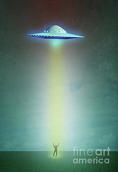 Alien Abduction by Edward Fielding