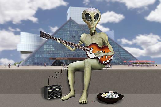 Mike McGlothlen - Alien Bass Guitarist