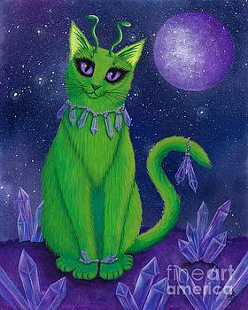 Alien Cat by Carrie Hawks
