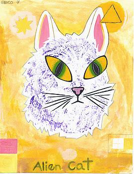 Alien Cat by Paul Greco