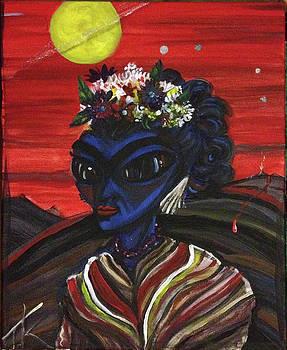 alien Frida Kalho by Similar Alien