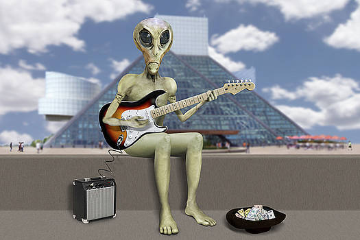 Mike McGlothlen - Alien Guitarist 2