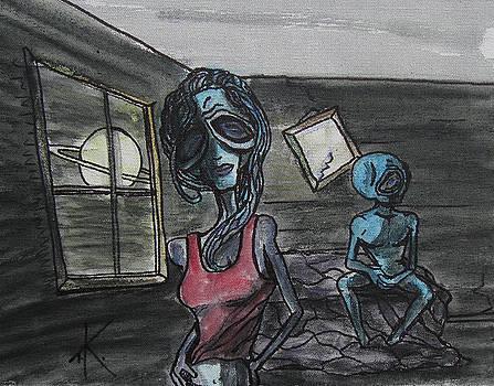 Alien Heartache by Similar Alien