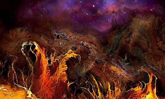 Alien Landscape by Hans Neuhart