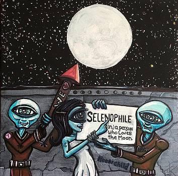 Alien Selenophiles by Similar Alien