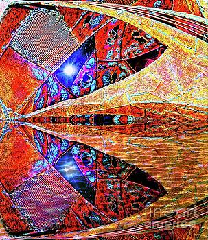 Alien Star Cave Reflection by Ian Gledhill