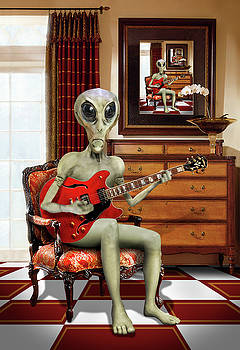 Mike McGlothlen - Alien Vacation - We Roll With Jazz