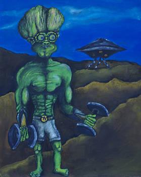 Alien Work Out by Jaren Johnson
