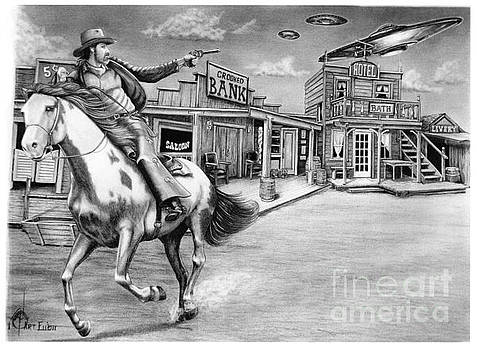 Aliens and Cowboys by Murphy Elliott