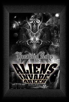 Aliens Invade 4 Beer Galaxy Attack by Xzendor7