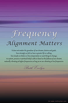 Alignment Matters by Ruth Evelyn