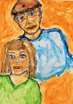 Alina and Mario by Mario Carta