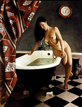 Alison on bath by Toby Boothman