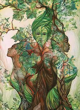 Living Tree by Bernadett Bagyinka