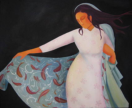 Alive Veil by Azadeh Amiri