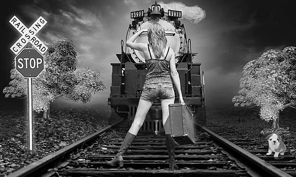 All Aboard The Train by Marvin Blaine